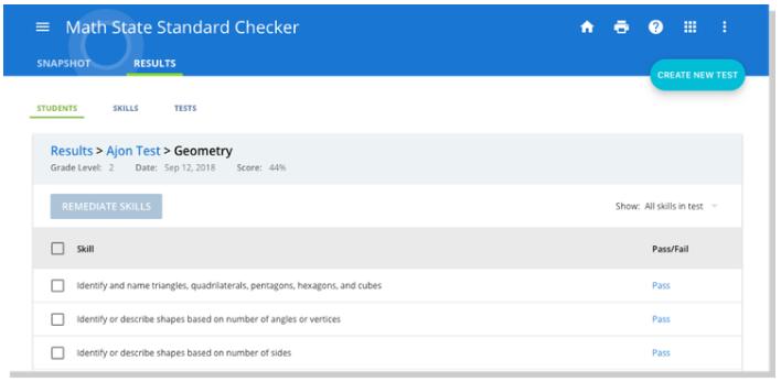 State Standard Checker